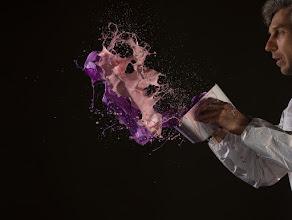 Photo: This is how splash magic happens -behind the scene. Results are here: https://www.photigy.com/28-amazing-splash-photos/