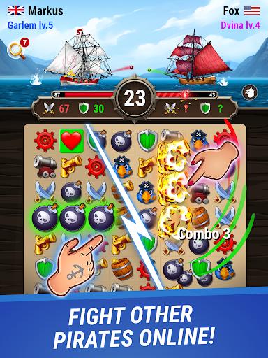 Pirates & Puzzles - PVP League apkmr screenshots 6