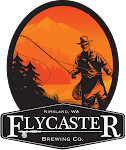Logo for Flycaster Brewing Company