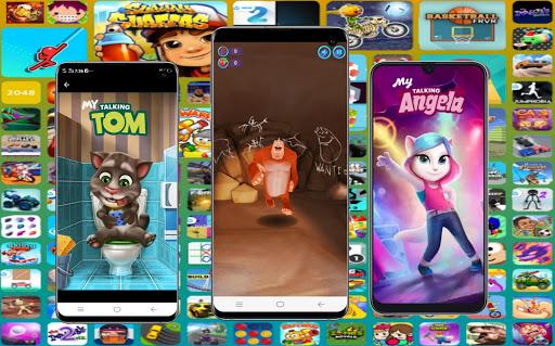 Games World Online All Fun Game - New Arcade 2020 apktram screenshots 4