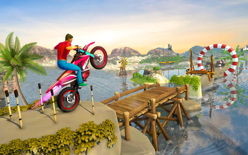 Bike Stunt Games 2018 Impossible Tracks 1.0 screenshots 4