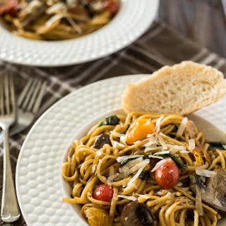 One Pot Tomato Basil Pasta Recipe
