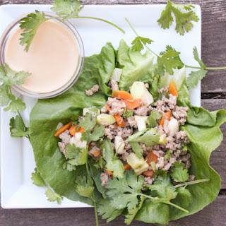 Lettuce Wraps With Ginger-tamari Sauce