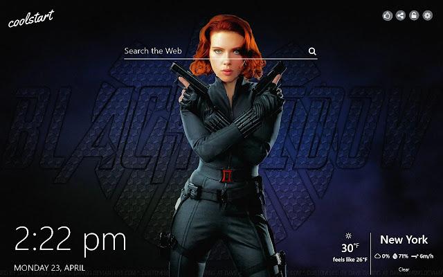 Black Widow Hd Wallpapers Marvel Heroes Theme