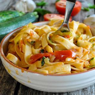 Zucchini Pasta Vegetarian Recipes