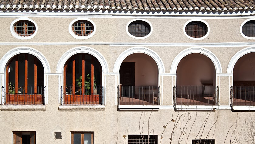 Casa de los Arcos en Vélez Blanco (Foto Cintia Romero).