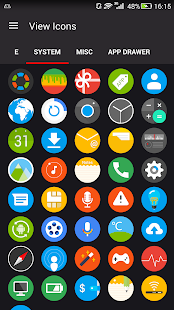 Pixel Icon Pack - Nougat UI Screenshot