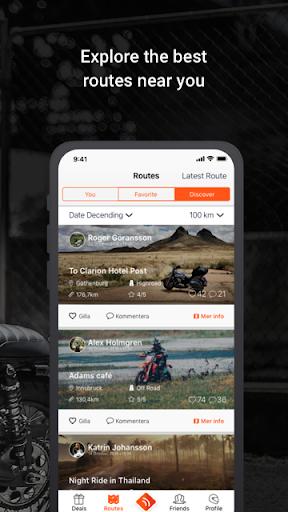 Detecht - Motorcycle GPS App screenshot 3
