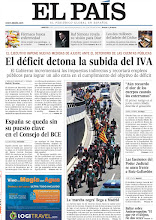 Photo: El déficit detona la subida del IVA, España se queda sin su puesto clave en el Consejo del BCE y la 'marcha negra' de mineros llega a Madrid, en nuestra portada de la edición nacional del martes 10 de julio de 2012 http://srv00.epimg.net/pdf/elpais/1aPagina/2012/07/ep-20120710.pdf