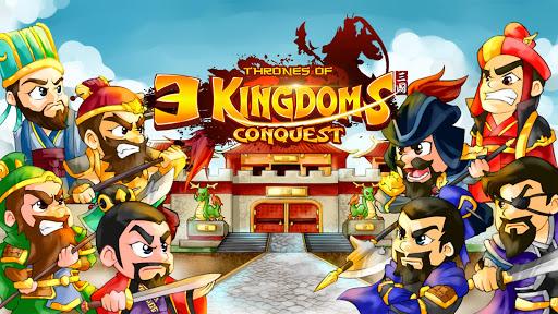Télécharger Thrones of 3 Kingdoms Conquest mod apk screenshots 1