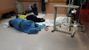 Women were allegedly made to sleep on the floor of Edenvale Hospital's maternity ward, prompting an investigation by the Gauteng health department.