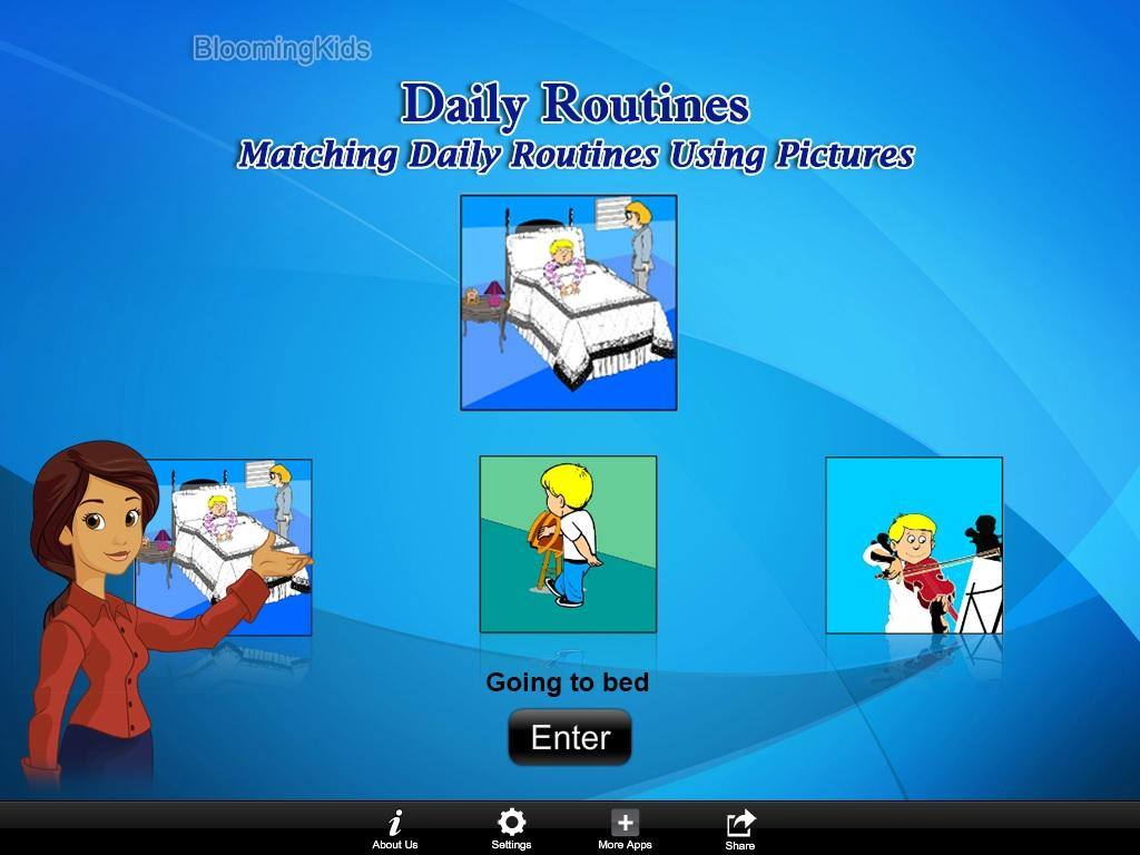 Match Daily Routines UPic Lite- screenshot