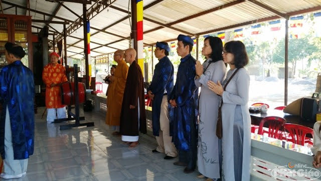 Môn đồ đệ tử đã làm lễ nhập tháp tại khuôn viên chùa Linh Quang, (Đại Điền) dưới chân núi Am Chúa (Diên Khánh)