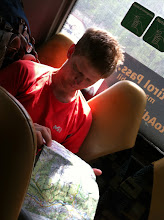 Photo: One of many photos of me reading a map. I should make a separate album with these.