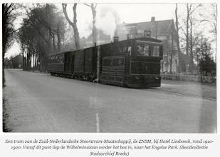 Photo: 1917 Tram bij Hotel Liesbosch