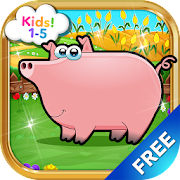 Kids Farm Animals - Kids Game 1, 2, 3 years old