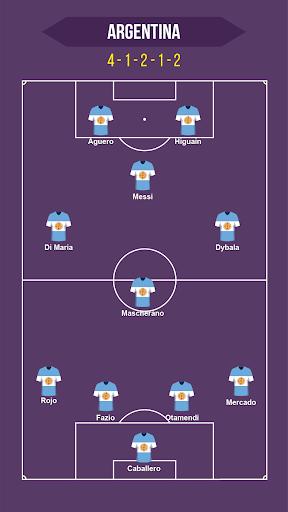 Football Squad Builder - Strategy, Tactic, Lineup 2.4.5 Screenshots 1