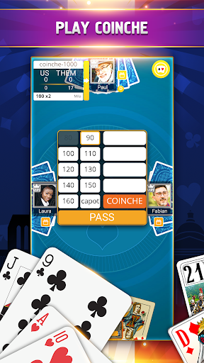 VIP Belote - French Belote Online Multiplayer android2mod screenshots 2