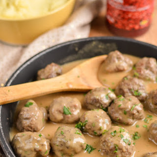 Swedish Meatballs and Gravy.