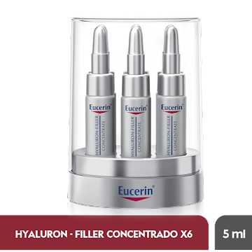 Crema EUCERIN Hyaluron   Filler concentrate 6 tubos x5ml