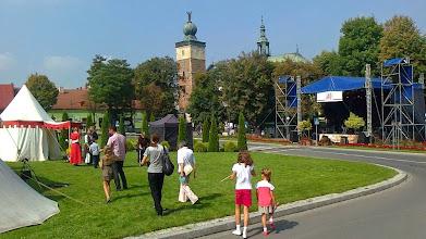 Photo: E9070311 Miechow - Bazylika Grobu Bozego i Rynek
