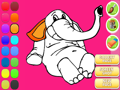Elephant Coloring Book screenshot 0