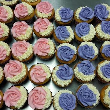 低糖奶油cupcake