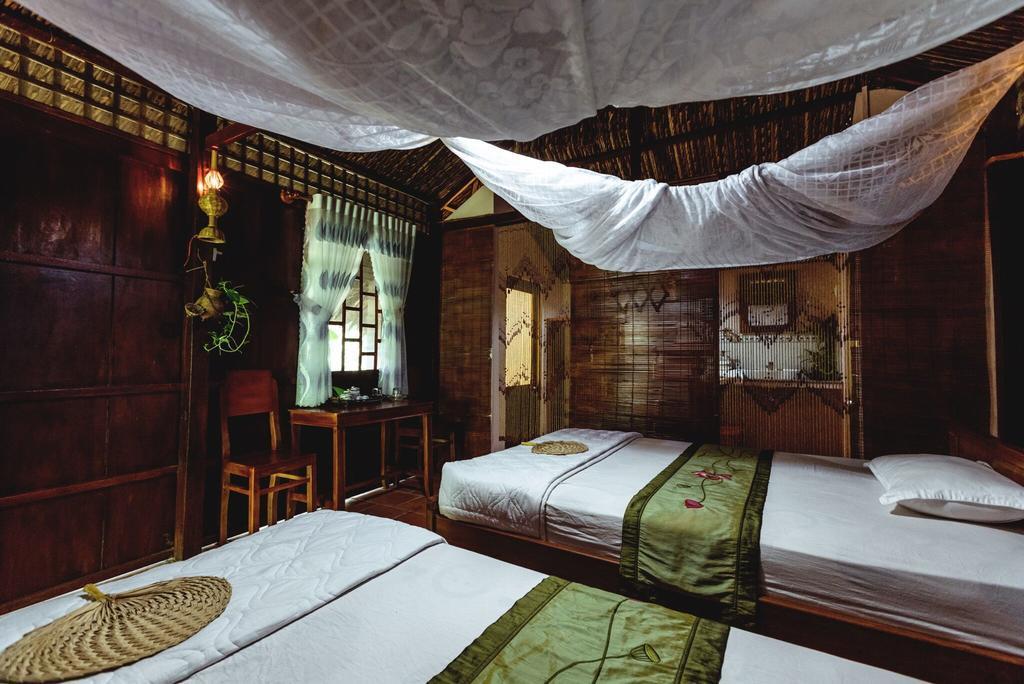 Phòng ngủ Jardin Du Mekong Homestay
