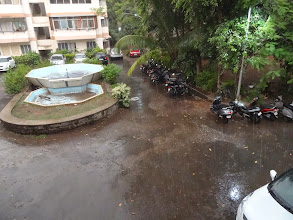 Photo: 30th April, Pune had a good amount of shower in the evening for about an hour. Was it the rehearsal of Monsoon 2014!? 2nd April updated (日本語はこちら) -http://jp.asksiddhi.in/daily_detail.php?id=529