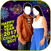 New Year 2017 Couple Suit