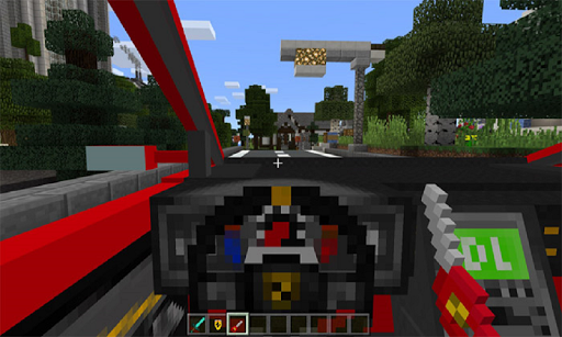 Super Car F. Mod for MCPE 4.2 screenshots 2