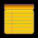 Simple Memo on Status Bar icon