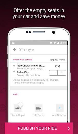 ibibo Ryde - Book AC Car Seats screenshot 2