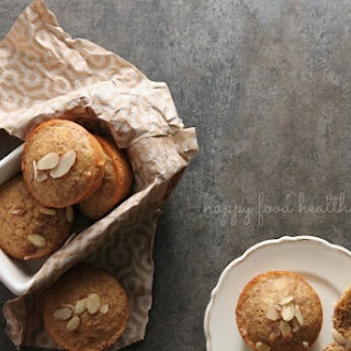 Healthy Toasted Almond and Orange Muffins