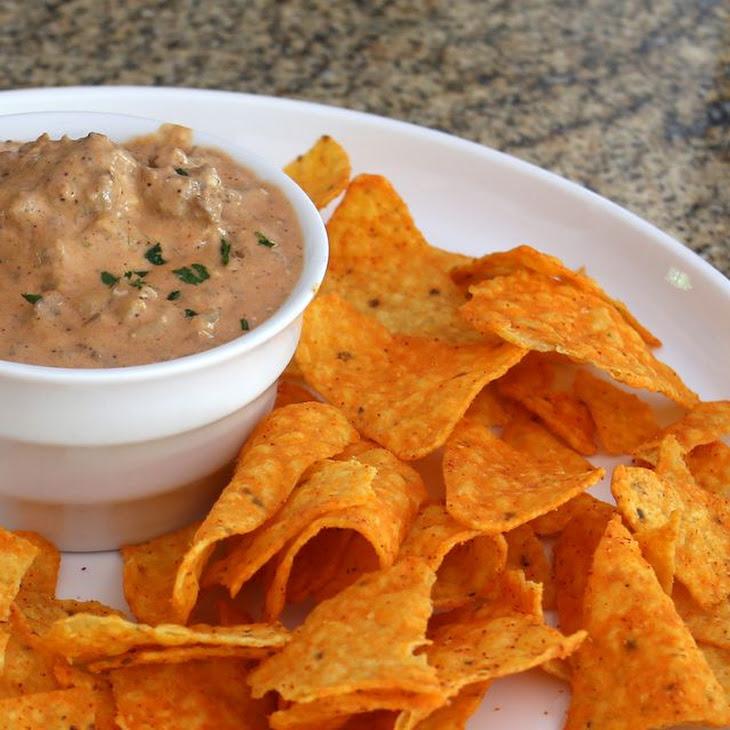 Crock Pot Hamburger Dip