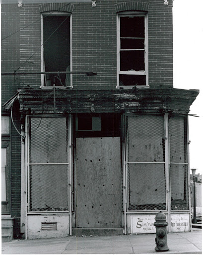 An Abandoned home in Baltimore 1968-69