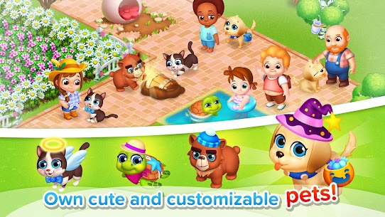 Family Farm Seaside MOD APK (Unlimited Money) 3