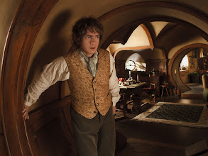 Photo: Bilbo Baggins at Bag End.