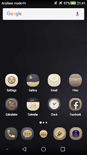 N Theme – Gold Icon Pack 1.6 [Mod + APK] Android 1