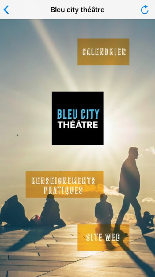 Bleu city Theatre- screenshot