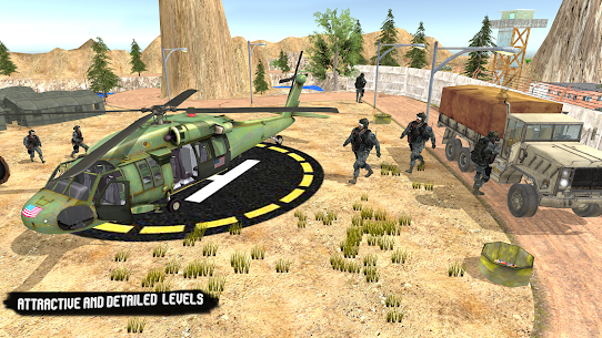 US Army Truck Pro:Army Transport 1.0 Mod APK Updated Android 2