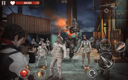 ZOMBIE SHOOTING SURVIVAL: Offline Games apkdebit screenshots 9