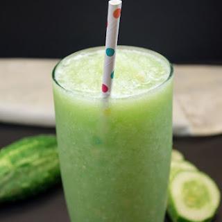 Cucumber Ginger Juice.