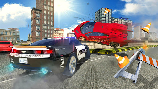 Police Car Chase : Hot Pursuit  screenshots 3