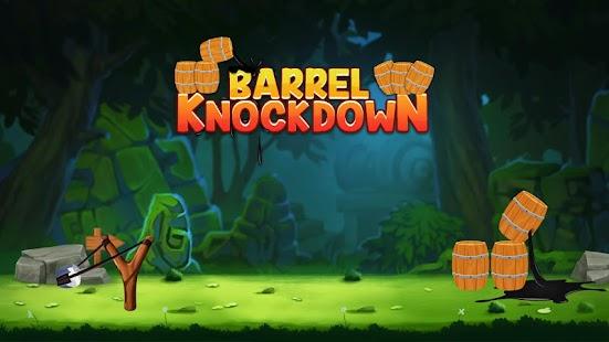 Barrel Knock Down Game - Free - náhled