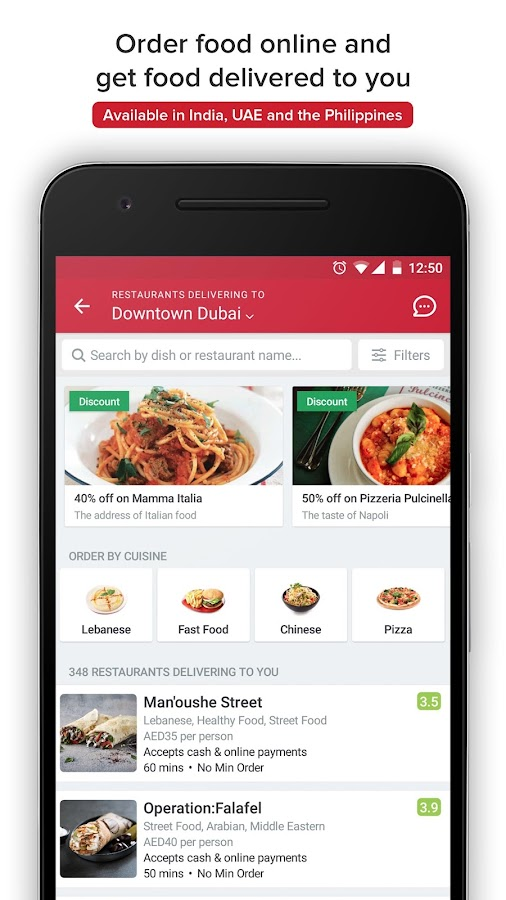 Zomato restaurant finder android apps on google play for The food bar zomato