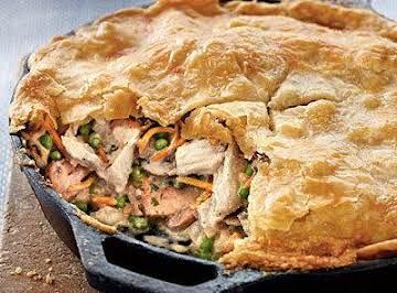 Best Ever Skillet Chicken Pot Pie