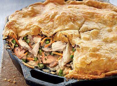 Best Ever Skillet Chicken Pot Pie Recipe