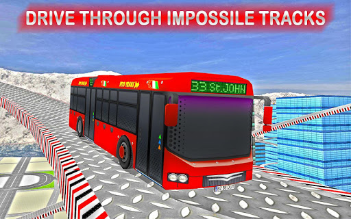 Rooftop Impossible Bus Driving 2018 1.0.1 screenshots 4