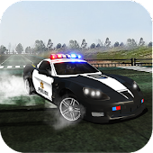 Police Drift Car - Highway Chase Driving Simulator